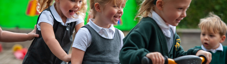 New Ash Green school reception